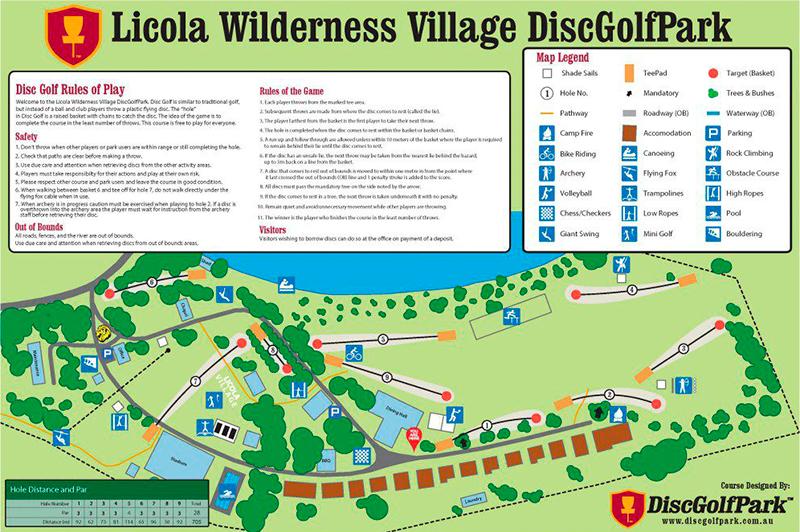 Recreation Activity Design Licola Wilderness Village