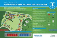 Recreation Activity Design Adventist Alpine Village Disc Golf Park Jindabyne NSW