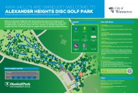 An image of Recreation Activity Design Alexander Heights Disc Golf Park