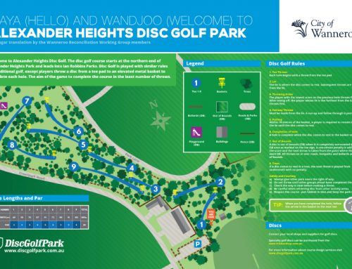 Enjoy Some Family Fun At Alexander Heights Disc Golf Course