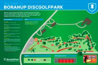 Recreation Activity Design Boranup Disc Golf Park
