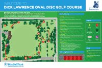 Recreation Activity Design Dick Lawrence Oval Disc Golf Course Beaconsfield