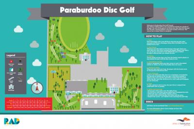 An image of Recreation Activity Design Paraburdoo Disc Golf Course