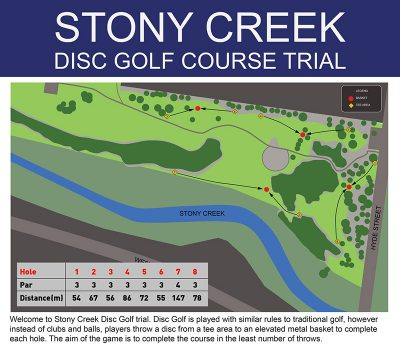 Recreation Activity Design Stony Creek Disc Golf