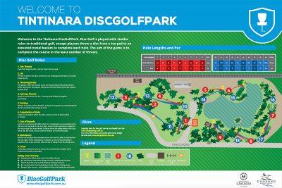 Recreation Activity Design Tintinara Disc golf Park