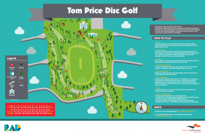 Recreation Activity Design Tom Price Disc Golf Course
