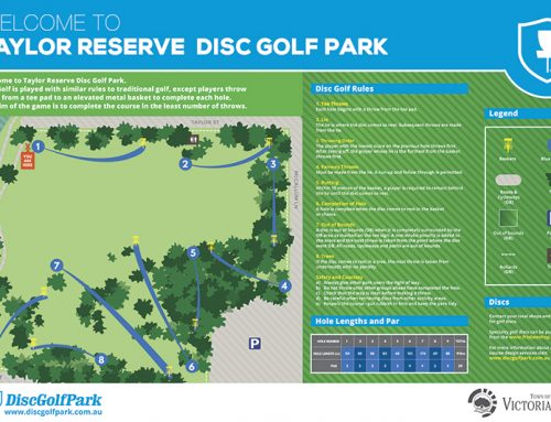 A Closer Look At Taylor Reserve Disc Golf Park
