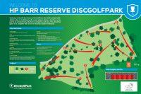Recreation Activity Design HP Barr Reserve Disc Golf Park Wangaratta