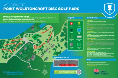Recreation Activity Design Wolstoncroft Disc Golf Park
