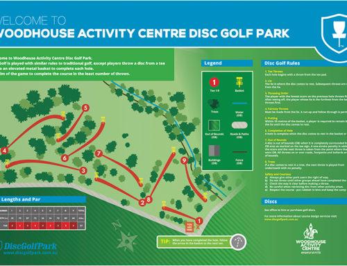 Woodhouse Activity Centre Disc Golf Park
