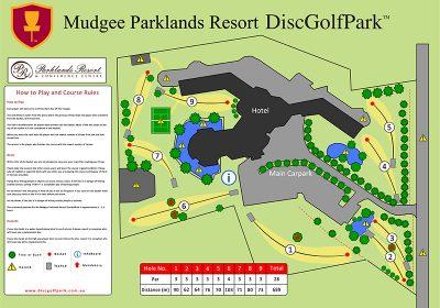 Recreation Activity Design Mudgee Parklands Resort Disc Golf Park