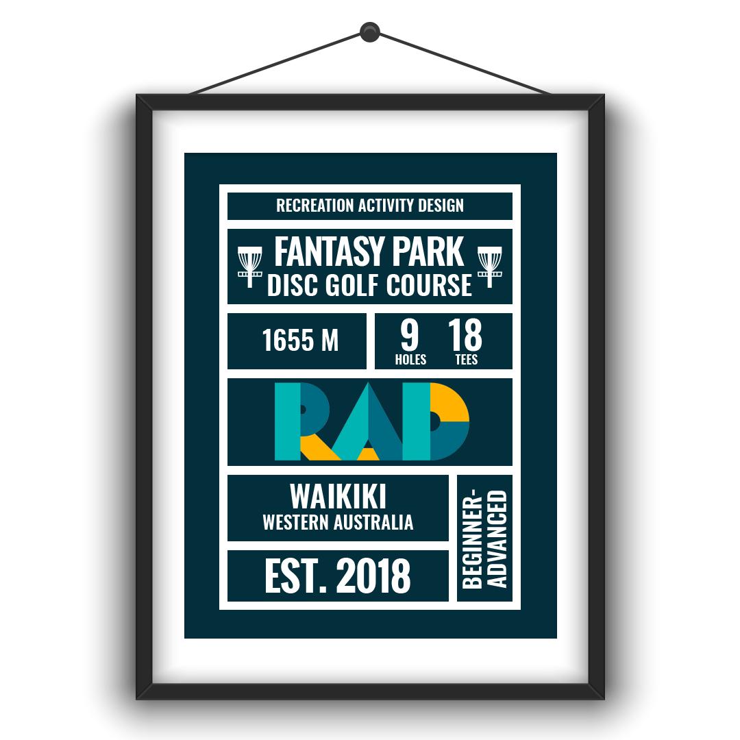 An image of Recreation Activity Design Fantasy Park Disc Golf Rockingham
