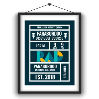An image of a frame showing paraburdoo disc golf course disc golf course