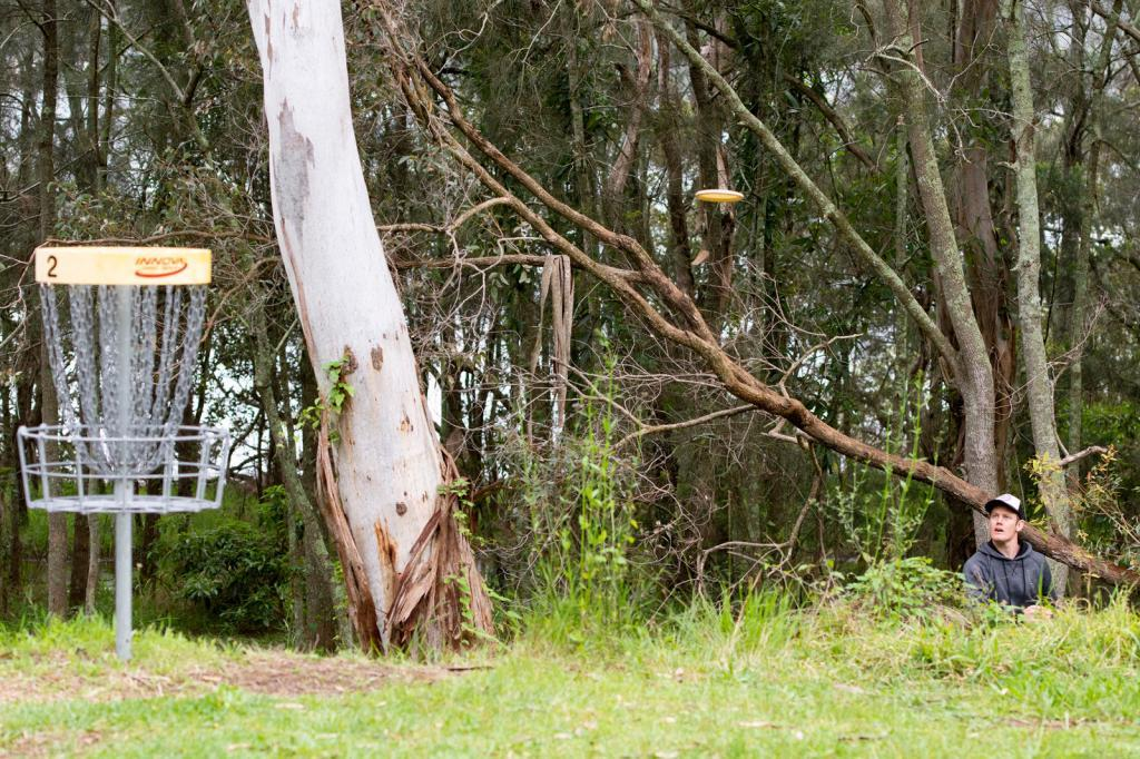 image of the Rathmines Park Disc Golf Course