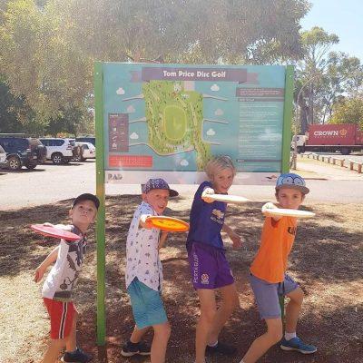 Recreation Activity Design Tom Price Disc Golf Course