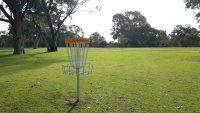 An image showing disc golf park