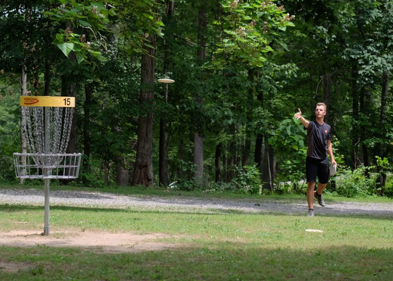 RAD Recreation Activity Design How to Disc Golf Put your best putt forward