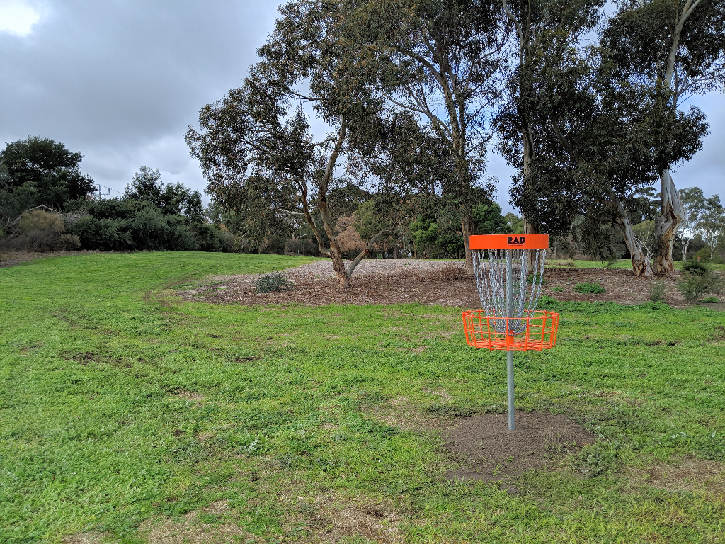 an image of disc golf basket