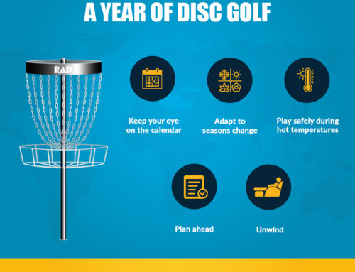 Transitioning Through a Year of Disc Golf